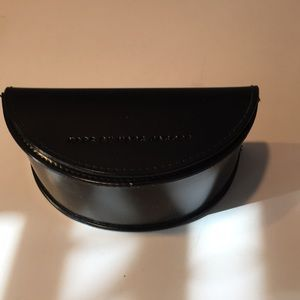 Marc by Marc Jacobs Black leather sunglasses case